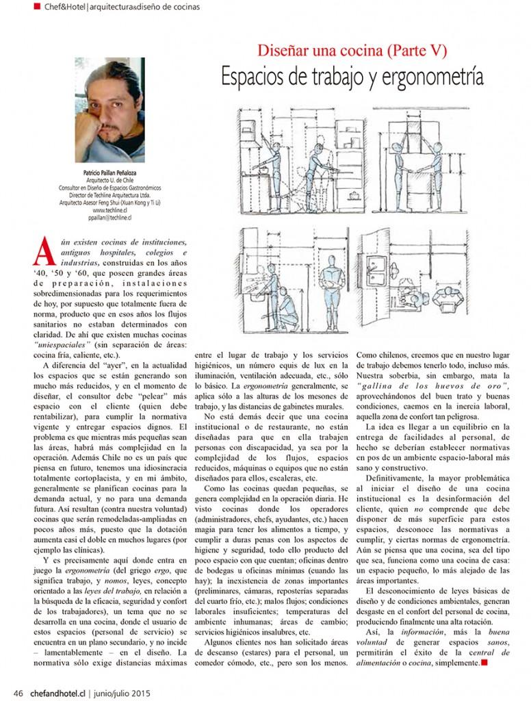 AVISO REVISTA CHEF & HOTEL EDICIÓN Nº89 - TECHLINE