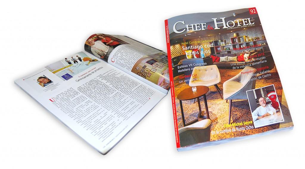 AVISO REVISTA CHEF & HOTEL EDICIÓN Nº92